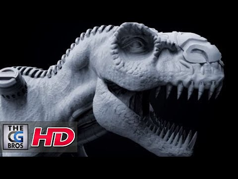 "CGI 3D Tutorial HD: ""Zbrush: Beginner's Sculpting a T Rex  PART 1"" - by Edge3D"