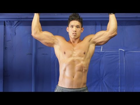 pull-ups workout for V-CUT BACK