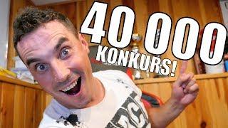 KONKURS NA 40 000 POZYTYWNYCH WĘDKARZY!