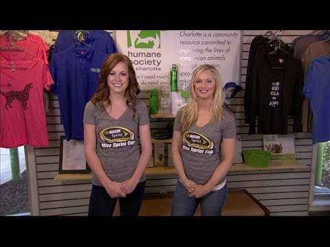 Inside Access with Miss Sprint Cup: Helping the Humane Society