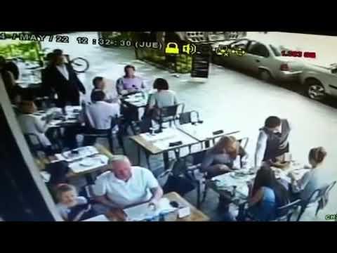 Asalto en Restaurante en Polanco.