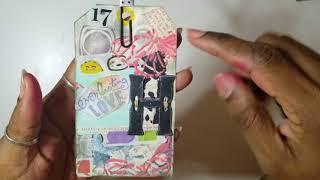 Embossing using DIY Dimensional paste
