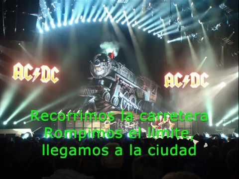 AC/DC - Thunderstruck Subtitulado en español