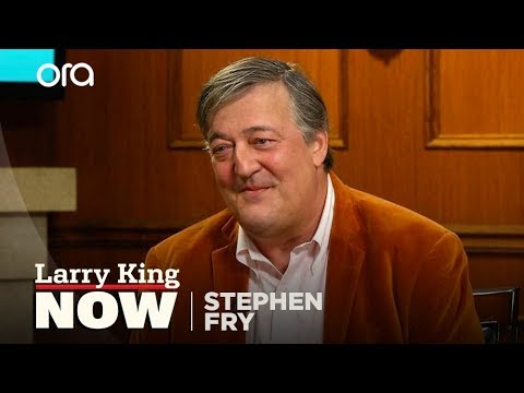 Stephen Fry: I think Trump would be bored as president | Larry King Now | Ora.TV
