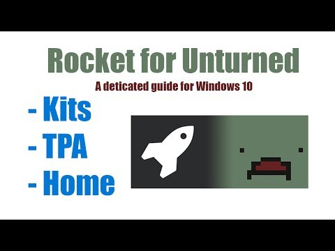 How to Install Rocket on Unturned Server - Windows 10