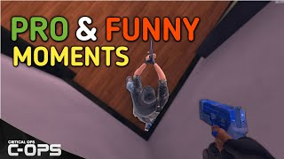 PRO AND FUNNY MOMENTS #2 - CRITICAL OPS