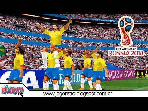 Winning Eleven FIFA World Cup Russia 2018 no Playstation 1