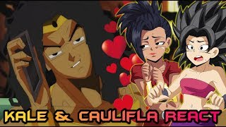 Kale and Caulifla React to Broly Slow Jam for Kale Feat. Weezy F Broly