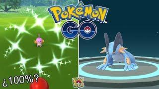 CONSIGO MUDKIP 100%! ¿SERÁ SHINY? COMMUNITY DAY MUDKIP! (PARTE 1) [Pokémon GO-davidpetit]
