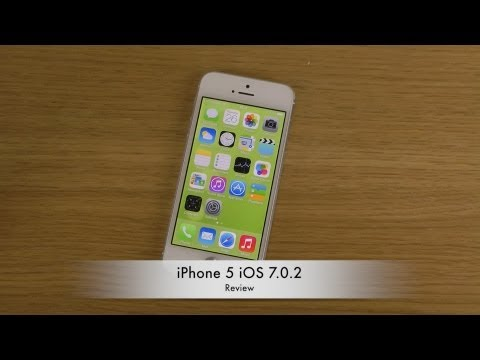 iPhone 5 iOS 7.0.2 - Review