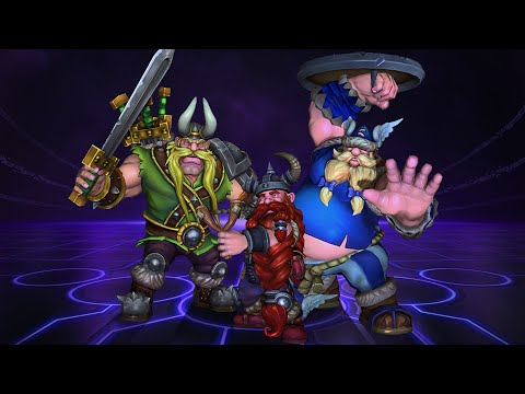 Heroes of the Storm: The Lost Viking Abilities