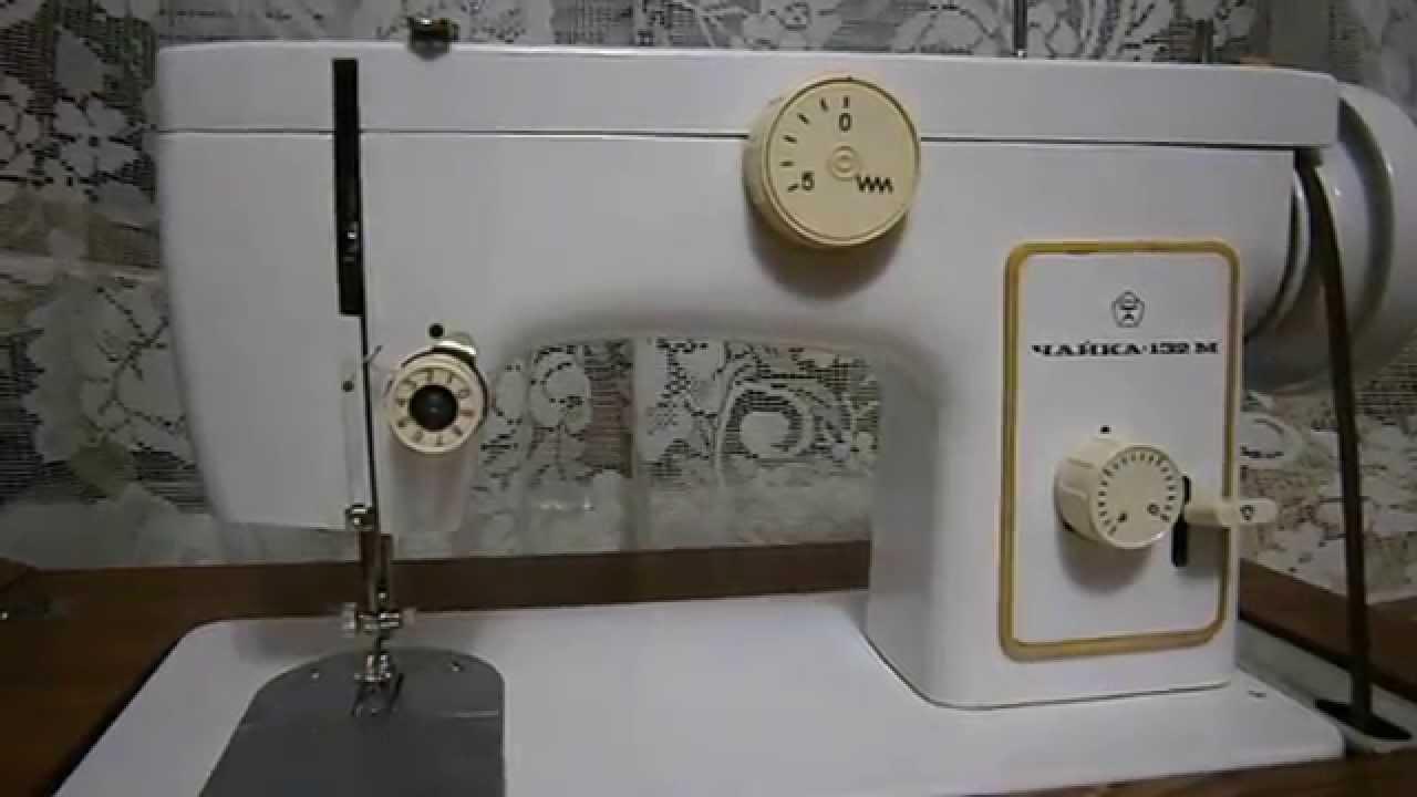 Вышивка на подольской швейной машине 70