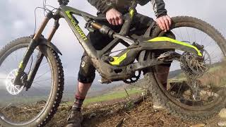 Polygon Xsquare One freaky fast mountain bike tech walk round