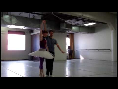 Colorado Ballet's The Nutcracker - Sugarplum Fairy and Cavalier Rehearsal