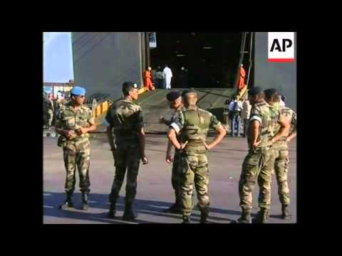 WRAP French contingent arrives in Beirut, adds more arrivals