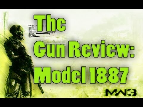 The MW3 Gun Review - Ep. 11: Model 1887 (Modern Warfare 3 Guns and Attachments and Perks Review) NEW