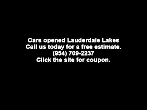 Cars opened Lauderdale Lakes 954-709-2237