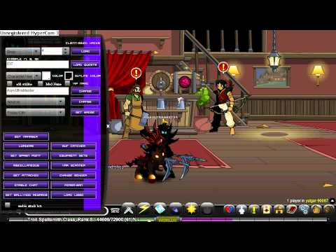 =AQW= How to use Dark Mystic (Trainer)