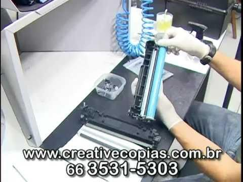 Recarga Toner HP CE285A, P1102, P1102W, M1130, M1132 - Video Aula