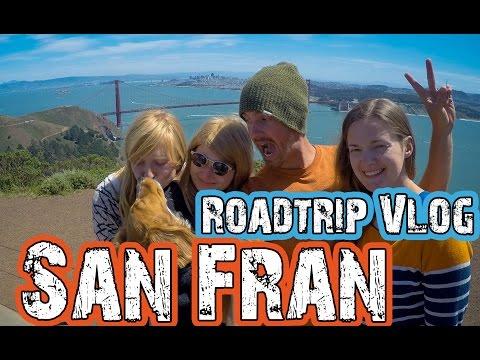 Golden Gate Bridge - Unforgettable crossing in a VW Bus. Travel Vlog(4)