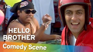 Hello Brother - Jhonny Lever - जॉनी लीवर की हिट कॉमेडी - Hit Comedy Scene -Shemaroo Bollywood Comedy