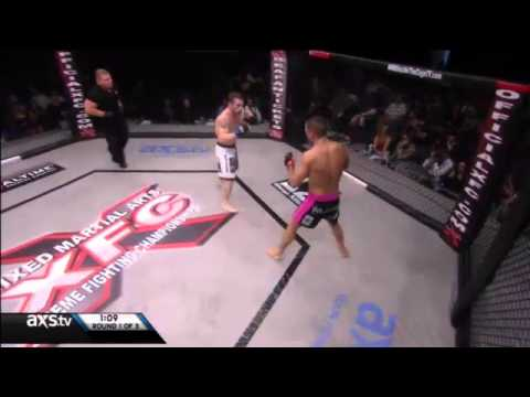 XFC Featherweight Jarrod Card vs Keith Richardson at XFC 21