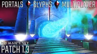 HOW TO FIND PORTALS GLYPHS & FRIENDS IN MULTIPLAYER NMS STARGATE