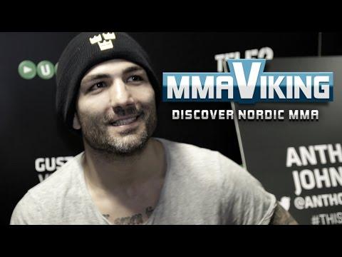UFC Sweden 4 Akira Corassani Pre Fight Interview