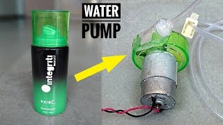 How to Make a Water Pump using bottle at Home