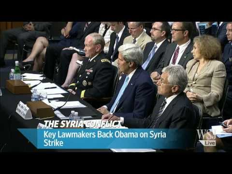 Syria News | U.S. Lawmakers Back Obama's Push on Syria