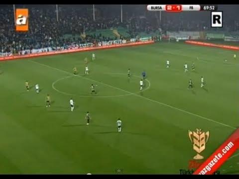Bursaspor 2 - 3 Fenerbahçe Ziraat Türkiye Kupası Maçın Özeti ve Golleri