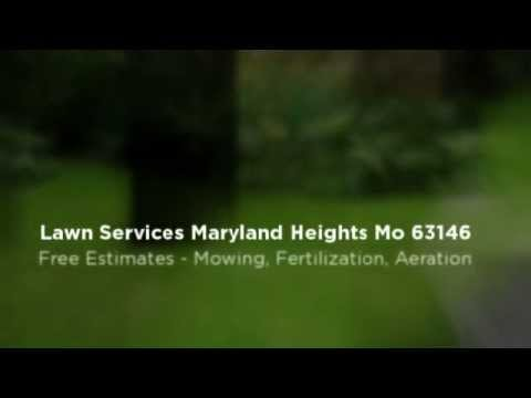 (314) 842-0529 Lawn Service Fertilization Weed Control Maryland Heights MO 63146