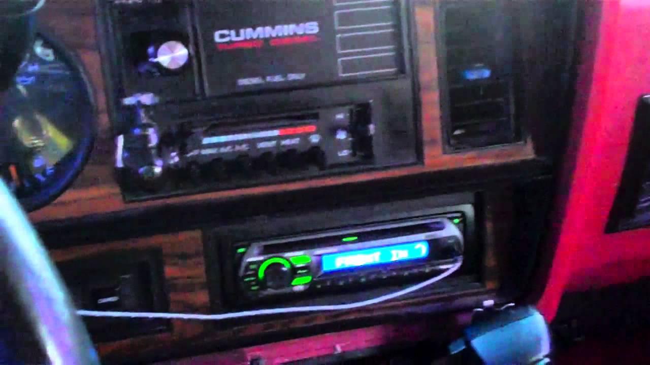 1993 Dodge D 250 Wait To Start Grid Heater Mod Youtube