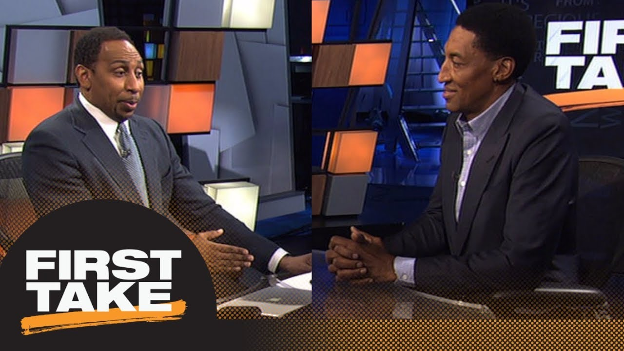 Stephen A. and Scottie Pippen intensely debate LeBron James vs. Michael Jordan | First Take | ESPN