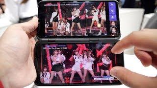 假的!伪折叠屏LG V50上手:真5G应用体验   MWC2019
