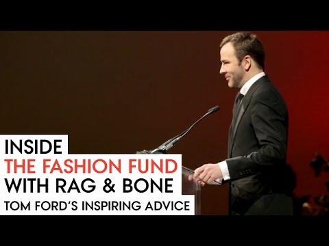 Tom ford\'s inspiring advice to designers at the fashion fund awards ceremony - vogue