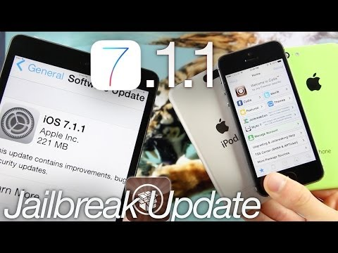 iOS 7.1.1 Jailbreak Update, Untethered Remains Patched iPhone 5S, iPad Avoid To Jailbreak & Details