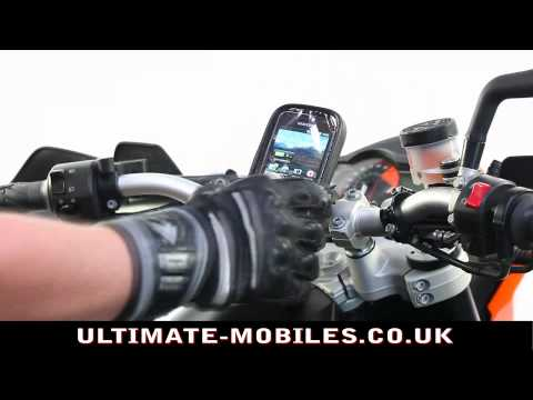 Motorcycle Handlebar Mount with Mobile Phone Waterproof Case