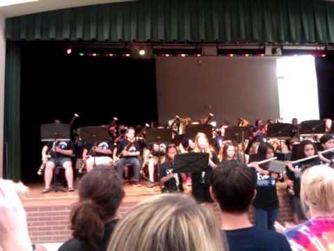 Evans Middle School Band