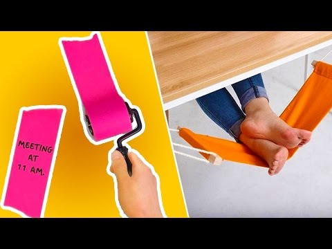 15 COOL OFFICE DIYs THAT'LL MAKE YOUR WORKDAY SO MUCH BETTER, Home Office DIY Organizing & Decorating, DIY Projects to Organize Your Office, Easy Hacks To Make Your Workday Better
