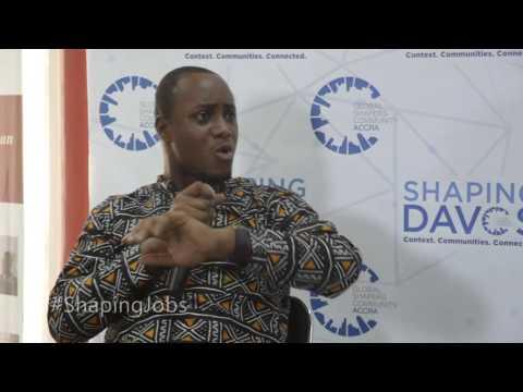 #ShapingDavos in Accra 2016 - John Armah (2) #ShapingJobs