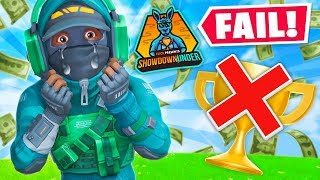 How I LOST $25,000 in Fortnite...