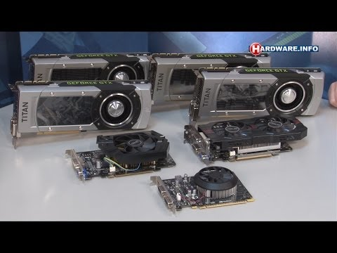 Nvidia GeForce GTX 750. 750 Ti en Titan Black review - Hardware.Info TV (Dutch)