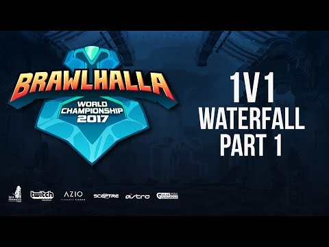 Saturday 1v1 Waterfall - PT 1 - Brawlhalla World Championship - BCX17