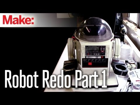 Projects With Ryan Slaugh: Robot Makeover Part 1