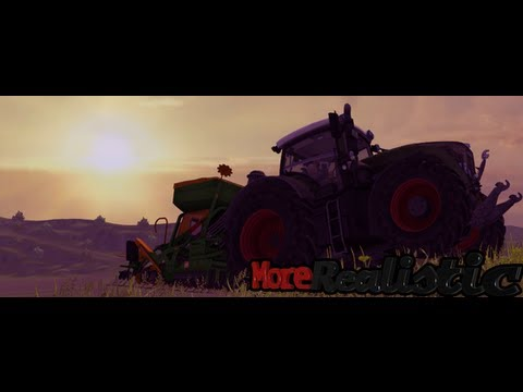Moc ciągnika a ciężar ładunku na modzie MoreRealistic | Farming Simulator 2013, LS 2013, FS 2013