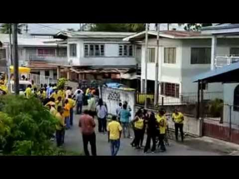 UNC Chaguanas West Bye Election Walkabout in Felicity