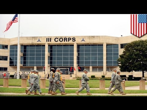 Fort Hood shooting:  four people dead including gunman, at least 14 injured
