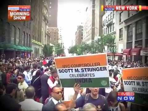 New York Celebrates 68th India Independence Day