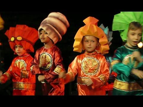 Новогодние выступления детей. Одесса. New Year's concert. Children. Odessa.